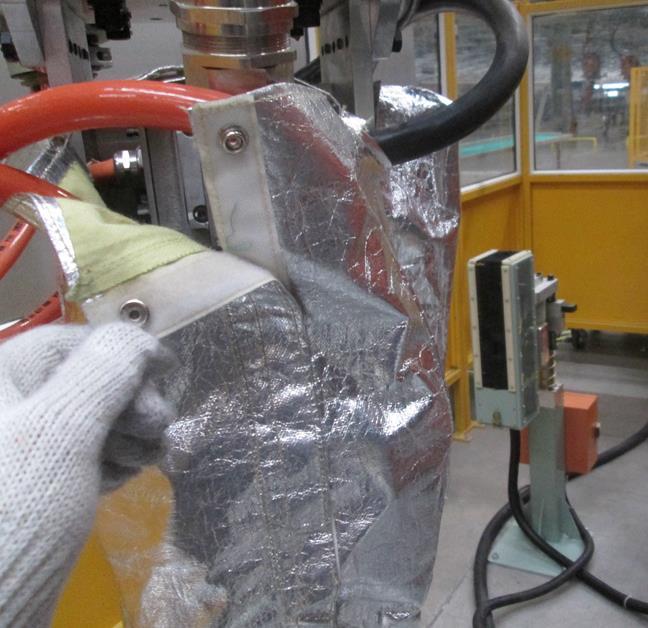 机器人焊钳防护罩